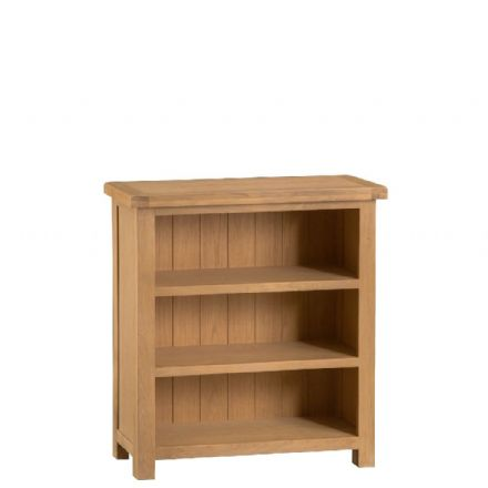 Oslo Oak Small Oak Bookcase